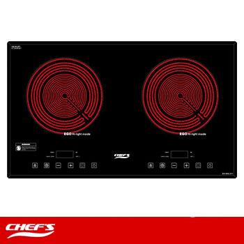 Bếp hồng ngoại đôi CHEFS EH-DHL311 (Công nghệ Đức)