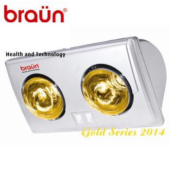 Đèn sưởi nhà tắm Braün BU02G