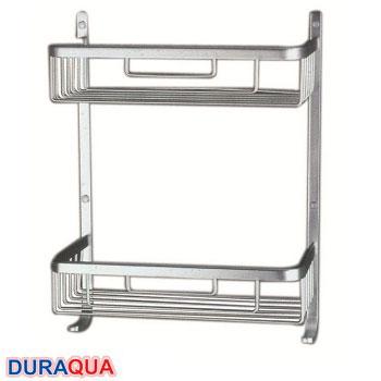 Kệ đựng đồ nhôm 2 tầng Duraqua B501