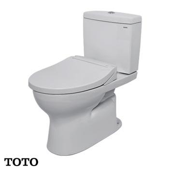 Bàn cầu TOTO 2 khối CS320DRE2 (Nắp Eco-Washer TCW07S)