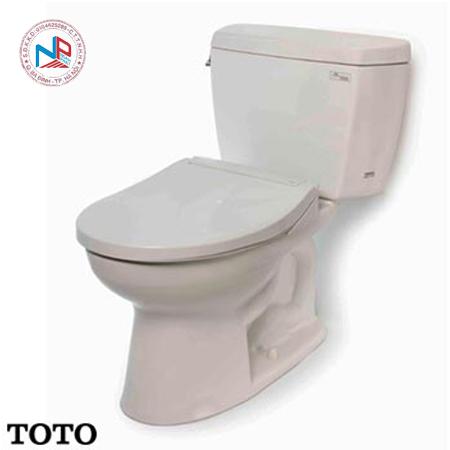 Bàn cầu TOTO 2 khối CST744SE2 (Nắp rửa TCW07S)
