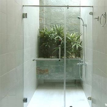 Vách tắm kính theo yêu cầu NP – Bộ thẳng