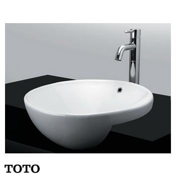 Chậu rửa bán âm bàn TOTO LT533R