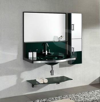 Bộ tủ chậu kính SENLI T1000A