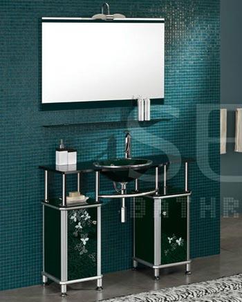 Bộ tủ chậu kính SENLI T1050C