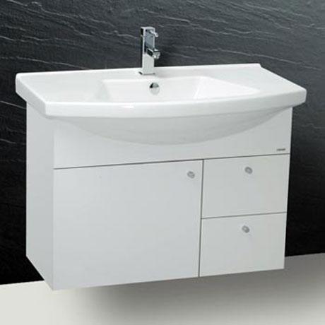 Tủ chậu rửa mặt Caesar LF5312+EH190V (Không gồm vòi)