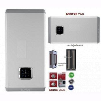 Bình nóng lạnh Ariston Velis Premium SS – 30L (Nhập khẩu Italy)-màu bạc