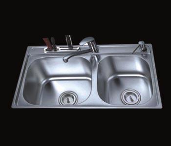 Chậu rửa bát AMTS 7745B (inox 304)
