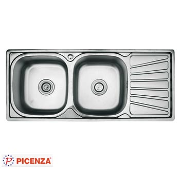 Chậu rửa bát Picenza DH12 (inox 201)