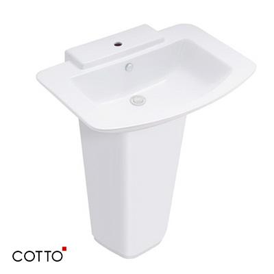 Chậu rửa chân dài COTTO C01467/C4116