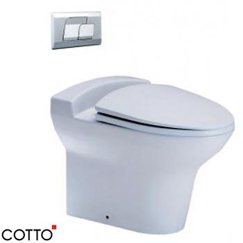 Bồn cầu két âm tường COTTO SC199(F)
