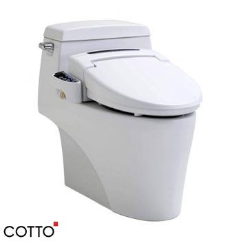 Bồn cầu kèm nắp rửa điện tử Cotto C10527(CV)