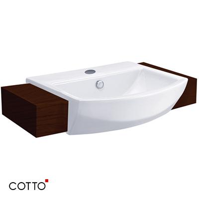 Chậu rửa âm bàn COTTO C02427