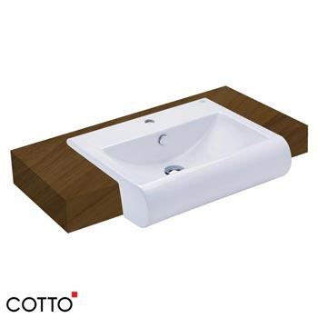 Chậu bán âm bàn COTTO C02237