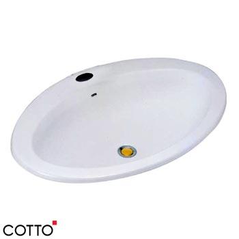 Chậu rửa âm bàn COTTO C019