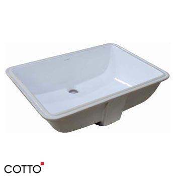 Chậu rửa âm bàn COTTO C05117
