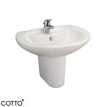Chậu rửa chân lửng COTTO C0107/C4201