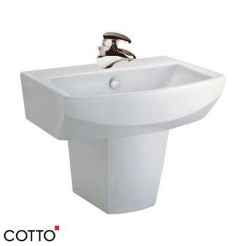 Chậu rửa chân lửng COTTO C01517/C4250