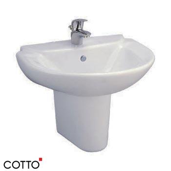 Chậu rửa chân lửng COTTO C0237/C4201