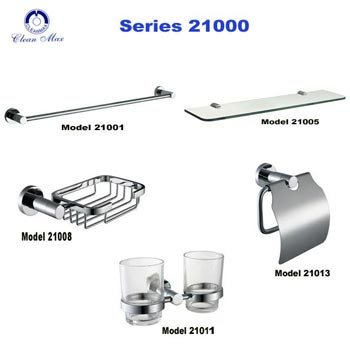 Bộ phụ kiện phòng tắm CleanMax series 21000