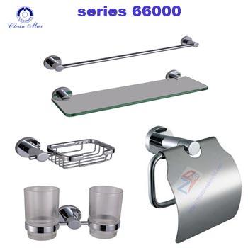Bộ phụ kiện phòng tắm CleanMax series 66000