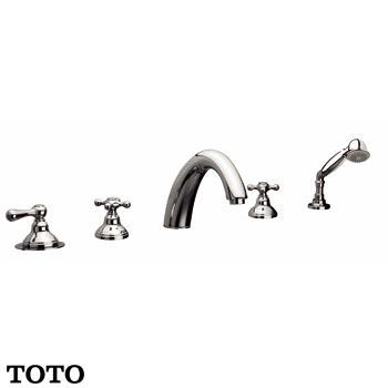 Vòi xả bồn nóng lạnh kèm sen tắm TOTO TX429SCBR