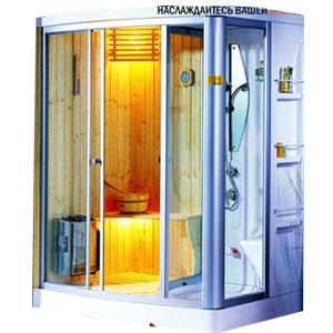Phòng xông hơi Appollo AG-0202 (Xông khô, Xông ướt, Massage)