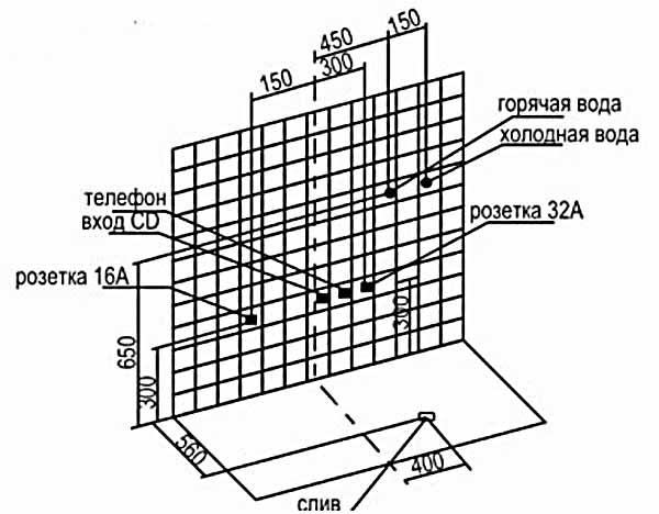 Bản vẽ kỹ thuật lắp đặt phòng xông hơi Appollo A-0828S -2