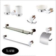 Bộ phụ kiện phòng tắm 6 món Tùng lâm TL-6700