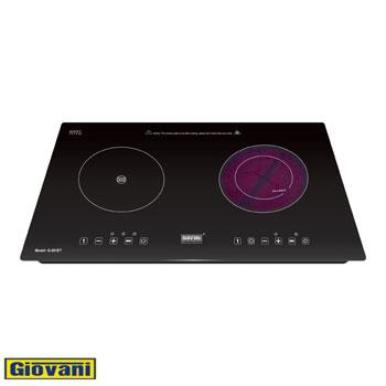 Bếp hỗn hợp điện từ Giovani G-261ET