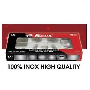 Bộ phụ kiện phòng tắm inox 201 Kendax K6100M