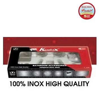 Bộ phụ kiện phòng tắm inox 304 Kendax K6100N