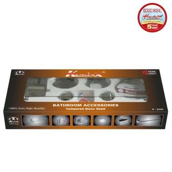 Bộ phụ kiện phòng tắm inox 304 Kendax K6200