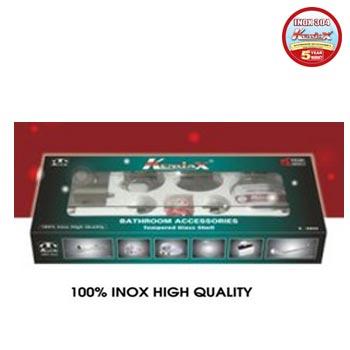 Bộ phụ kiện phòng tắm inox 304 Kendax K6600
