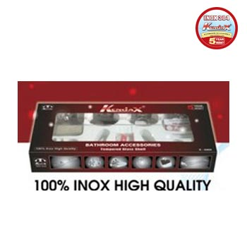 Bộ phụ kiện phòng tắm inox 304 Kendax K6800