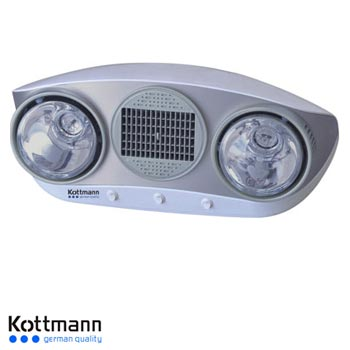 Đèn sưởi nhà tắm Hans Kottmann K2B-HW-S