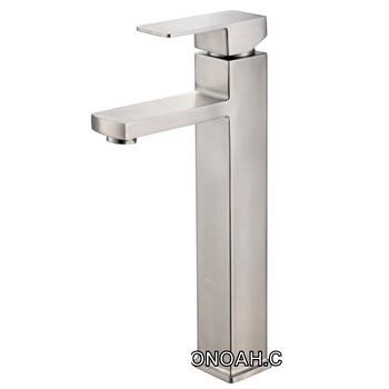 Vòi rửa lavabo nóng lạnh inox 304 Moonoah 365A