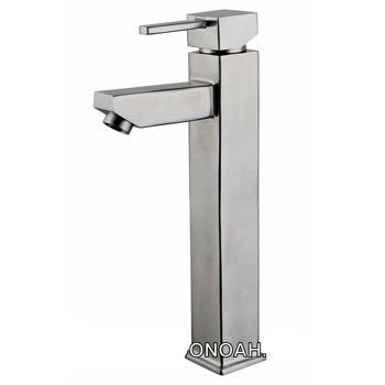 Vòi rửa lavabo nóng lạnh inox 304 Moonoah 525