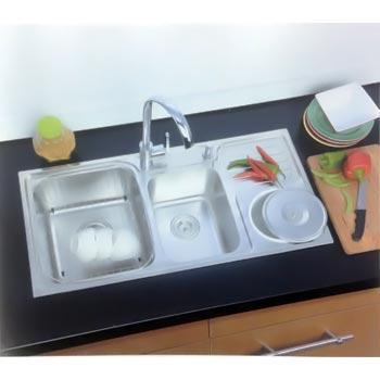 Chậu rửa bát Hàn Quốc DaeLim 9848BL (inox 304)