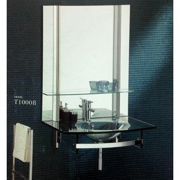 Bộ tủ chậu kính SENLI T1000B