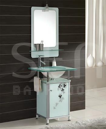 Bộ tủ chậu kính SENLI T620