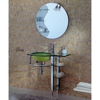 Bộ tủ chậu kính SENLI T800E