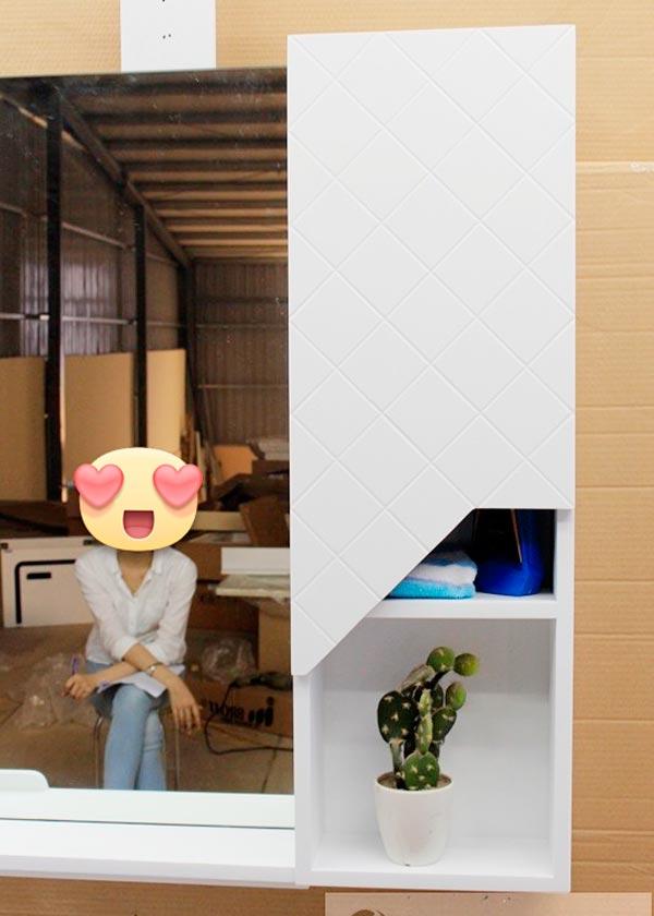Tủ chậu lavabo nhựa PVC BROSS 2019