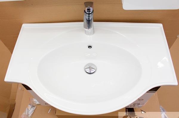 Tủ chậu lavabo nhựa PVC BROSS 398