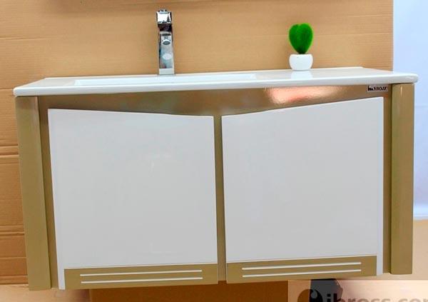 Bộ tủ chậu PVC cao cấp BROSS 761