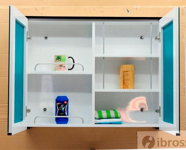 Bộ tủ chậu PVC cao cấp BROSS BRS 2047