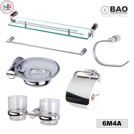 Bộ phụ kiện phòng tắm BAO 6M4A