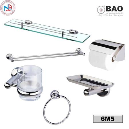 Bộ phụ kiện phòng tắm BAO 6M5