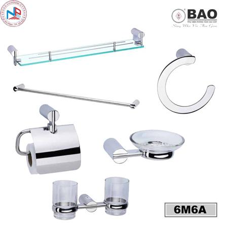 Bộ phụ kiện phòng tắm BAO 6M6A
