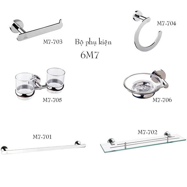 Bộ phụ kiện phòng tắm BAO 6M7